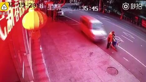 痛心!乐山井研59岁环卫工即将退休,昨天扫街被撞身亡