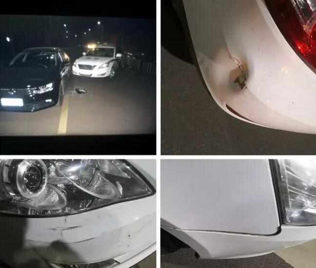 宝丰酒驾男强行冲卡撞击警车被刑拘