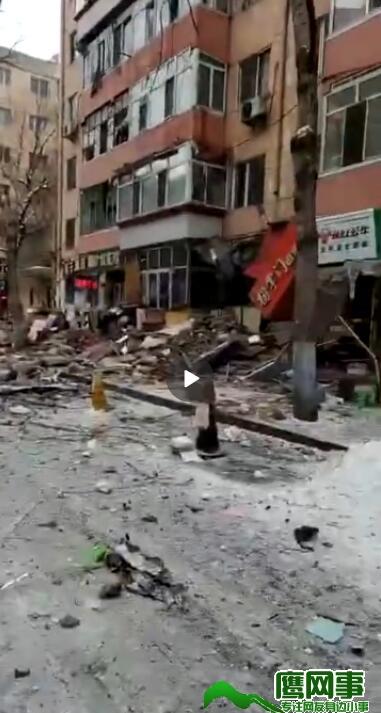 哈尔滨河清街爆炸 原因商不明确
