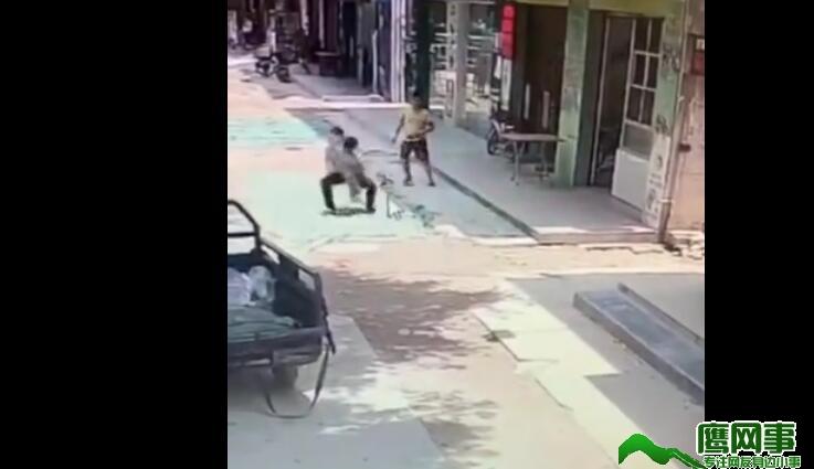 东莞塘厦镇林村社区环村路128号附近发生一起抢小孩事件