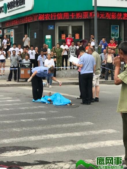 太原北大街绿柳巷口发生杀人命案 男子被当街捅死